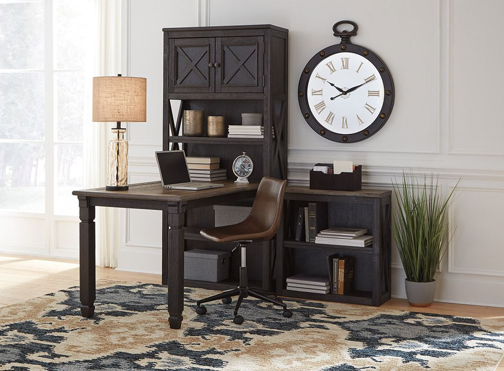 Picture of Tyler Creek Medium Bookcase and Desk Set