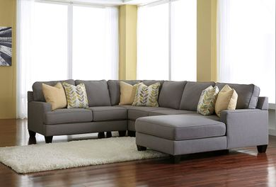 Chamberly Alloy Four Piece Sectional