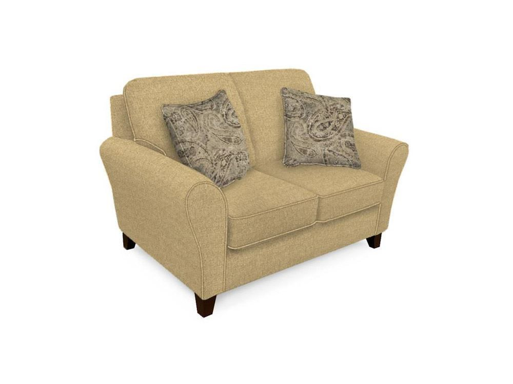 Picture of Aria Linen Loveseat