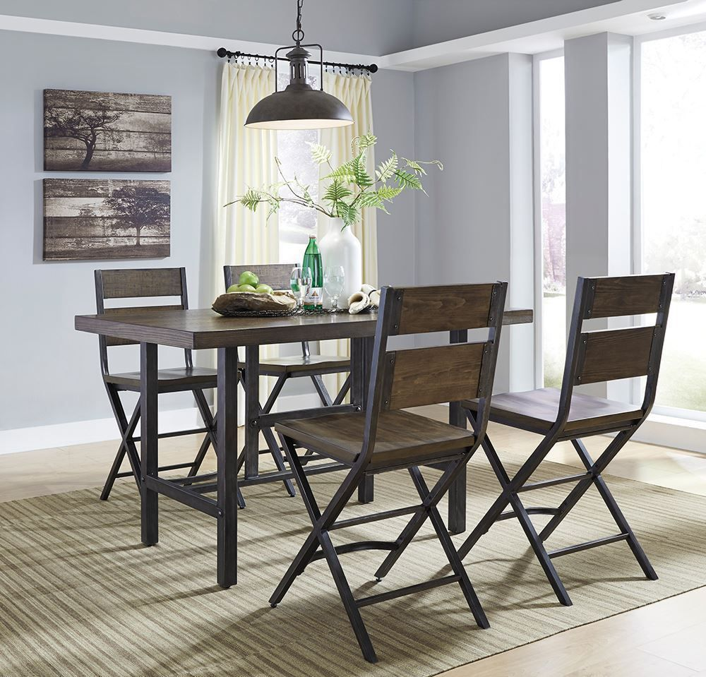 Picture of Kavara Rectangular Table with Four Chairs