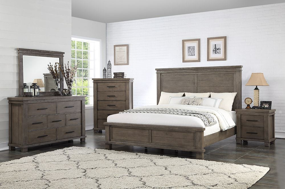 Picture of Easton Square Grey King Bedroom Set