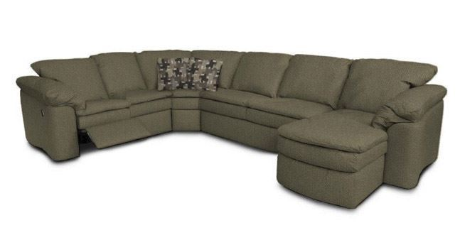 Picture of Werebear Khaki Six Piece Sectional