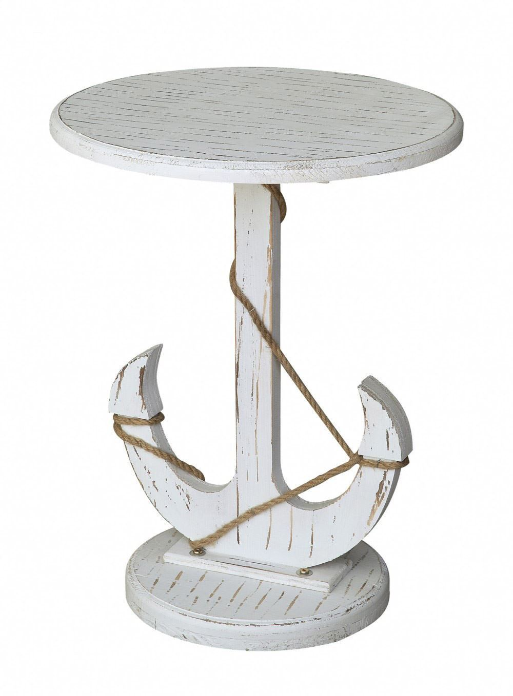Picture of Harbor White Anchor Table