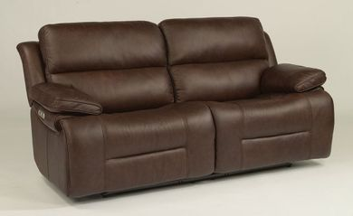 Apollo Brown Power Reclining Sofa