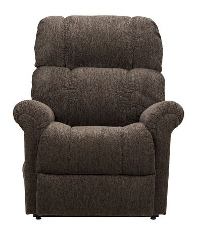 Slate Brown Power Lift Recliner
