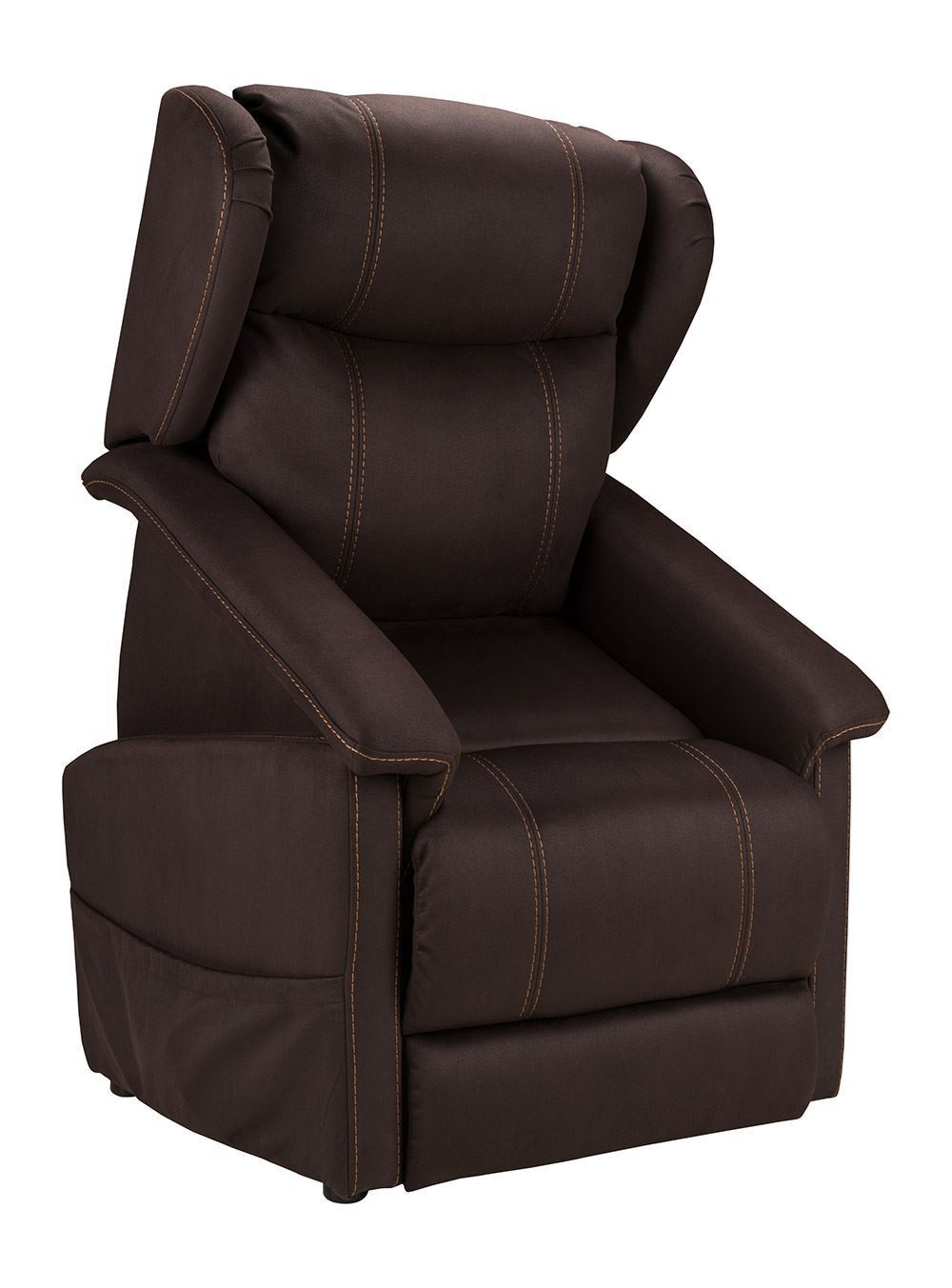 Picture of Stonewash Fudge Power Lift Recliner