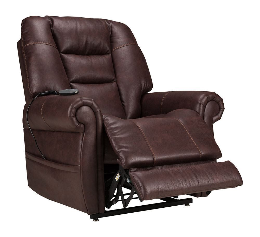 Badlands Merlot Power Lift Recliner The Furniture Mart