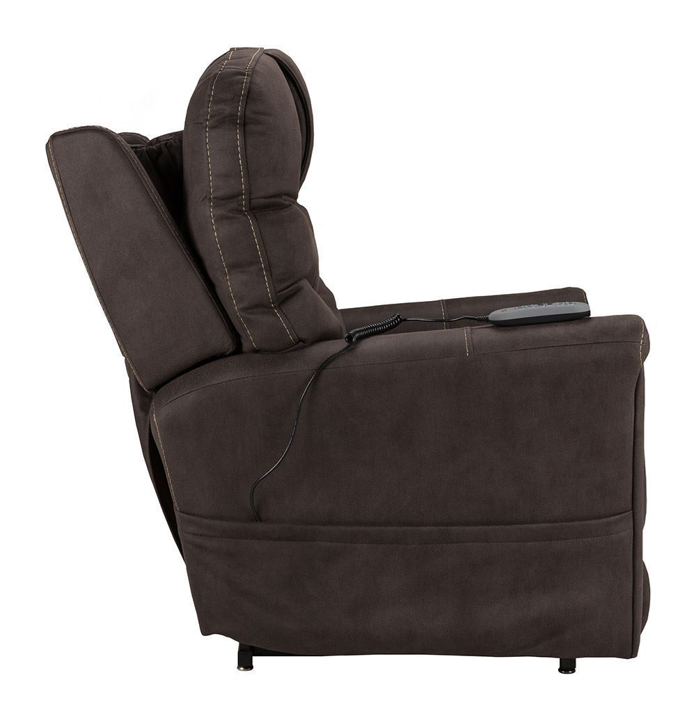 Picture of Stonewash Gray Power Lift Recliner