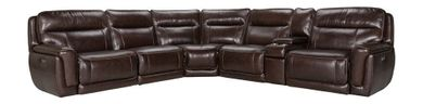 Longhorn Black Oak Six Piece Power Sectional