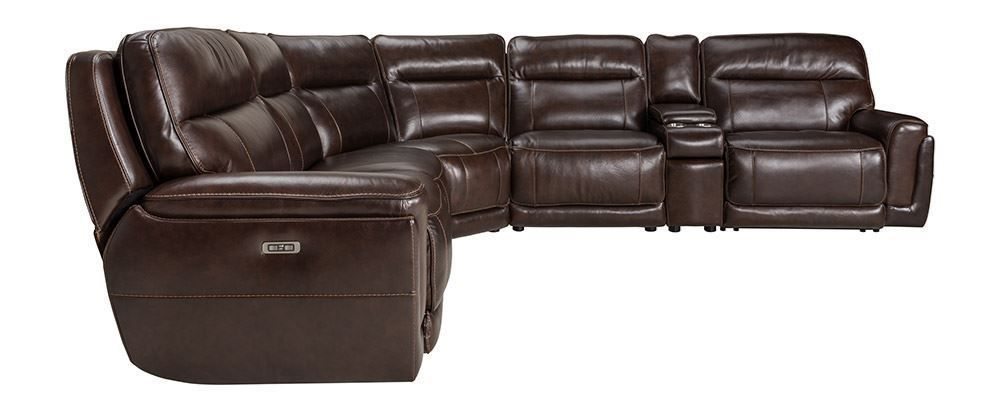 Picture of Longhorn Black Oak Six Piece Power Sectional