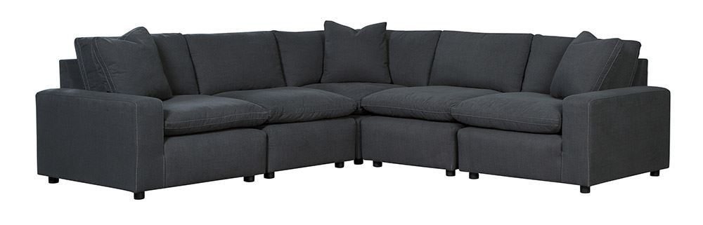 Picture of Savesto Charcoal Five Piece Sectional