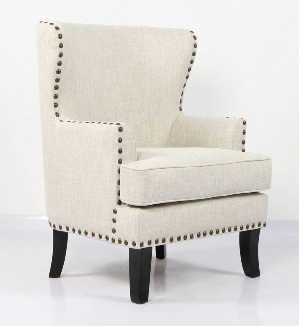 Picture of Conversation Ivory Accent Chair
