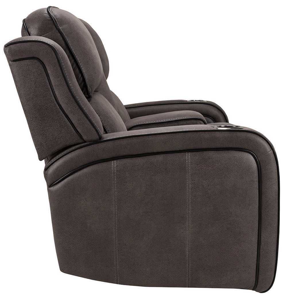 Picture of Fiji Grey Power Reclining Console Loveseat
