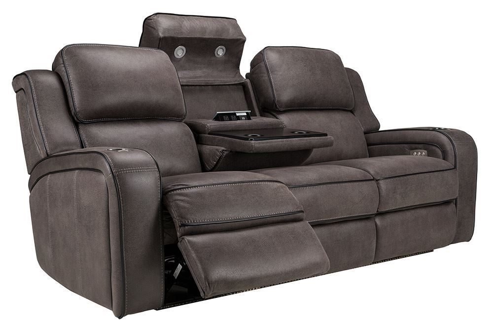 Picture of Fiji Grey Power Reclining Sofa