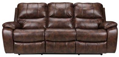 Cognac Dual Reclining Sofa