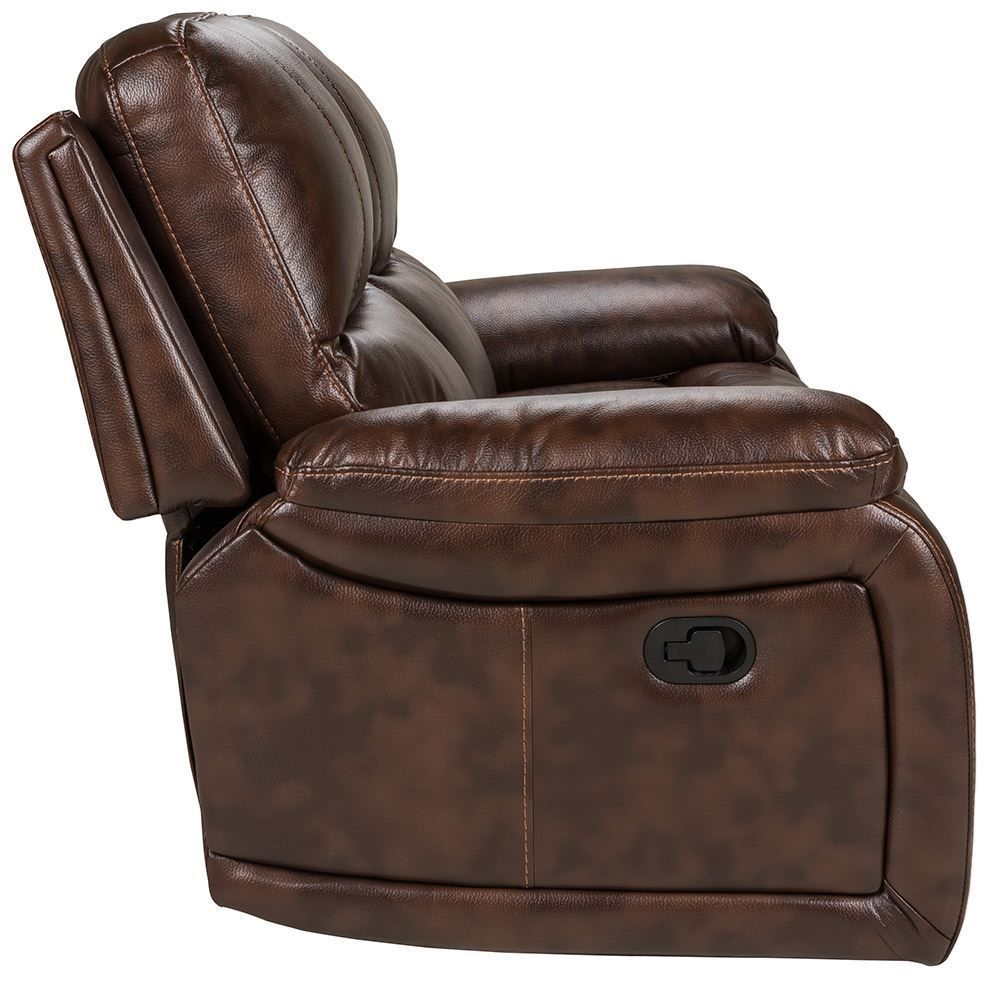 Picture of Cognac Dual Reclining Sofa