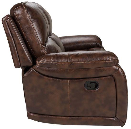 Picture of Cognac Dual Reclining Sofa