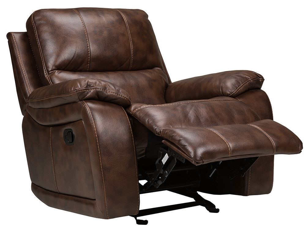 Picture of Cognac Glider Recliner
