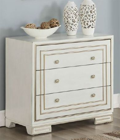 Bliss Ivory Three Drawer Chest