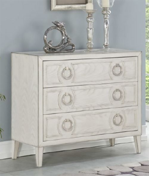 Picture of Reeds White Three Drawer Chest
