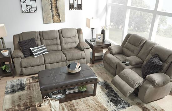 Picture of McCade Cobblestone Reclining Sofa