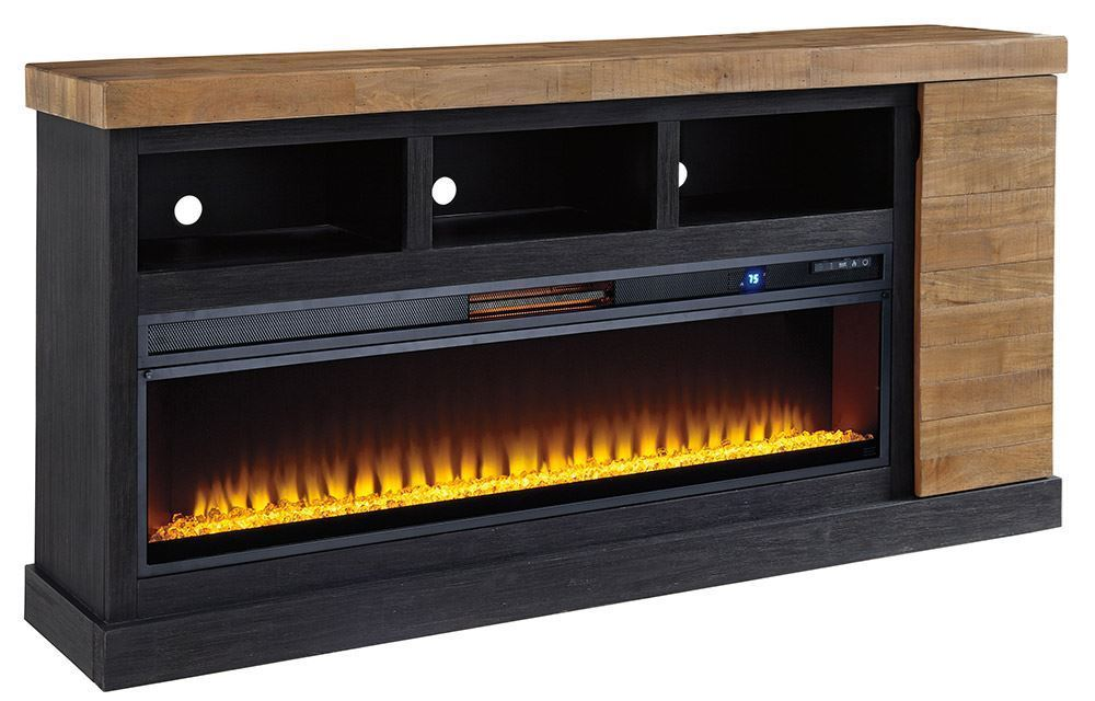 Picture of Tonnari TV Stand with Fireplace Insert