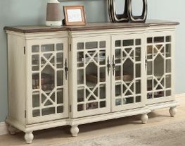 Mills Four Door Media Credenza