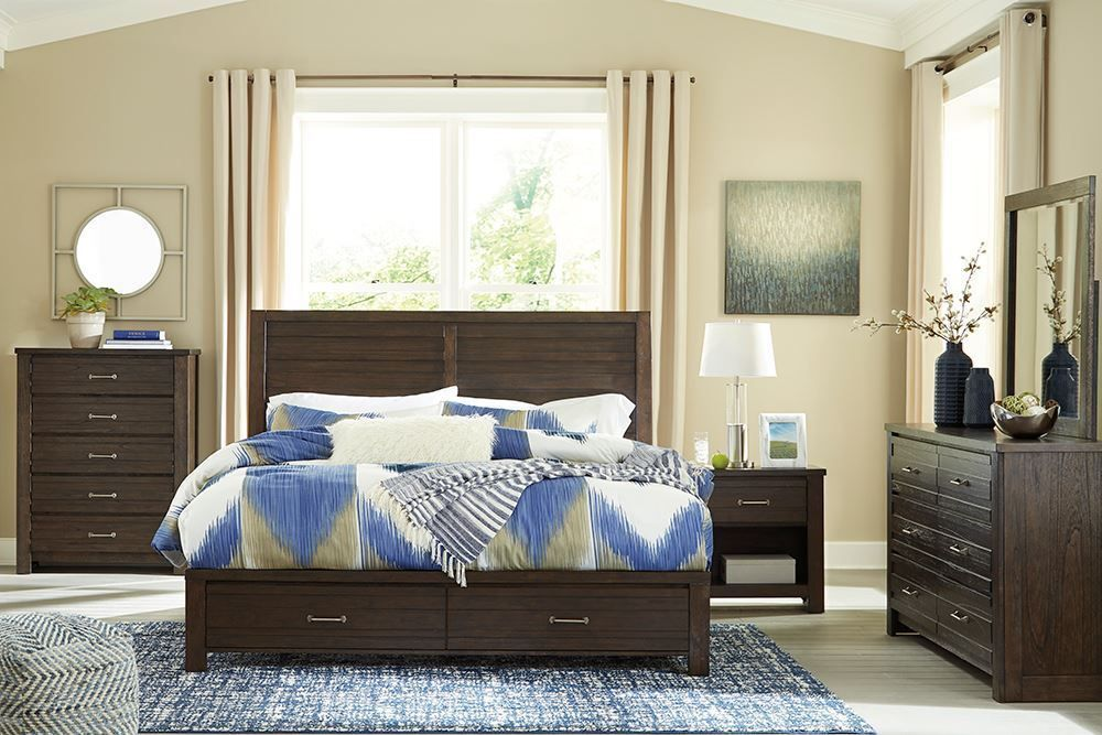 Picture of Darbry King Storage Bedroom Set