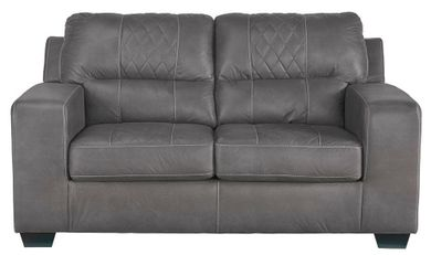 Narzole Dark Gray Loveseat