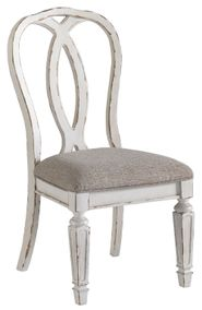 Realyn Upholstered Ribbon Back Side Chair