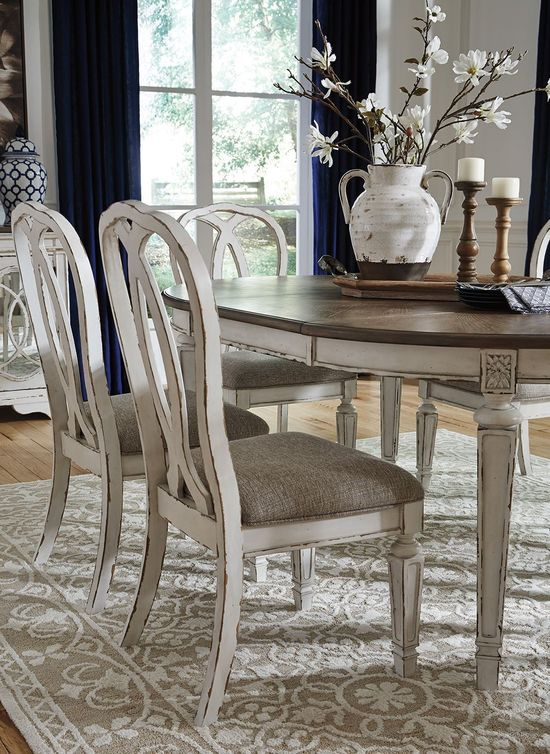 Picture of Realyn Upholstered Ribbon Back Side Chair