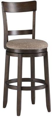 Drewing Upholstered Swivel Barstool