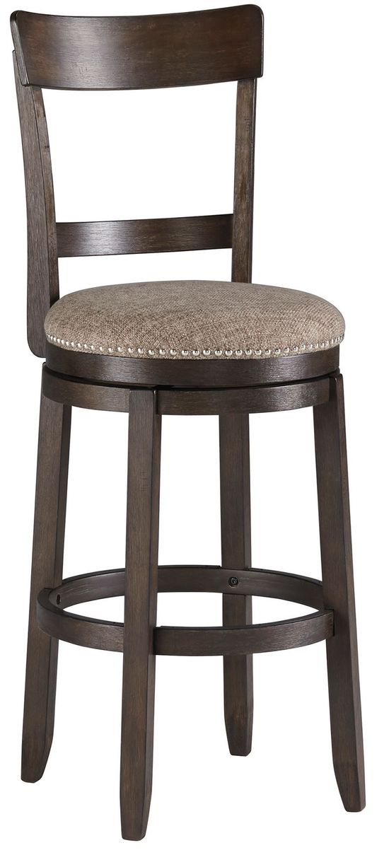 Picture of Drewing Upholstered Swivel Barstool
