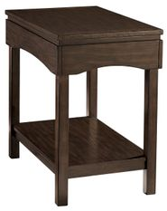 Haddigan Brown Chairside Table