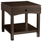 Haddigan Brown Rectangular End Table