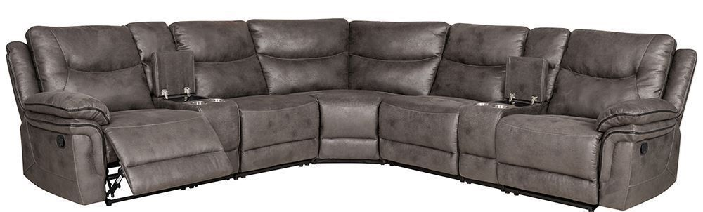 Picture of Windsor Mushroom Six Piece Sectional