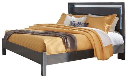 Steelson California King Panel Bed Set