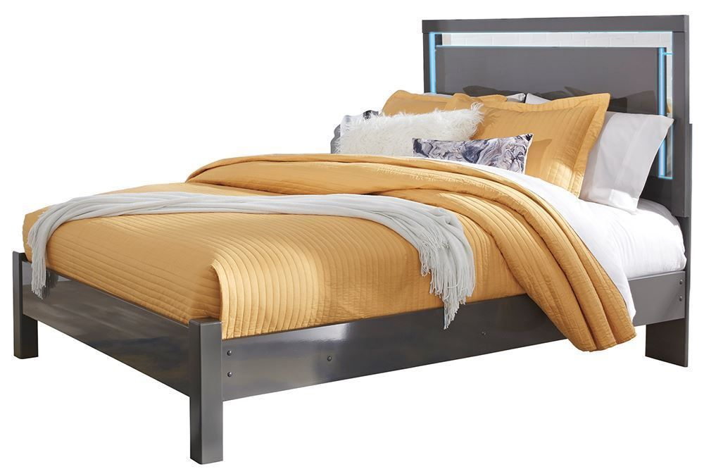 Picture of Steelson California Queen Panel Bed Set
