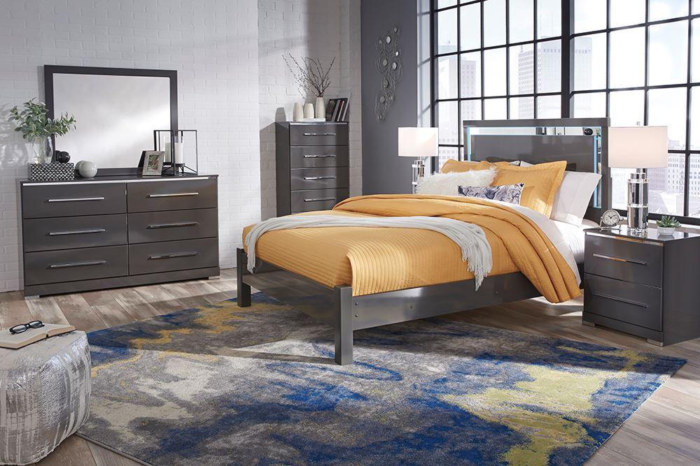 Picture of Steelson California Queen Panel Bedroom Set