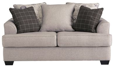 Velletri Pewter Loveseat
