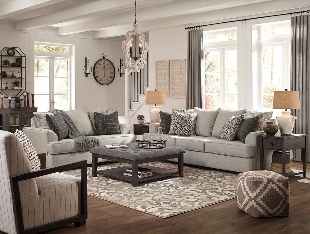 Picture of Velletri Pewter Loveseat