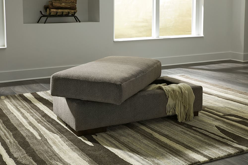 Picture of Manzani Graphite Storage Ottoman