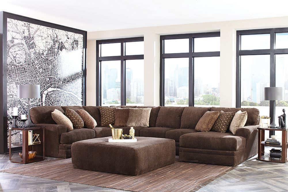 Picture of Mammoth Chocolate Three Piece Sectional