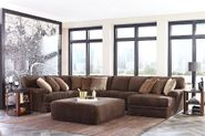 Mammoth Chocolate Three Piece Sectional