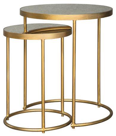 Majaci Gold Nesting Tables