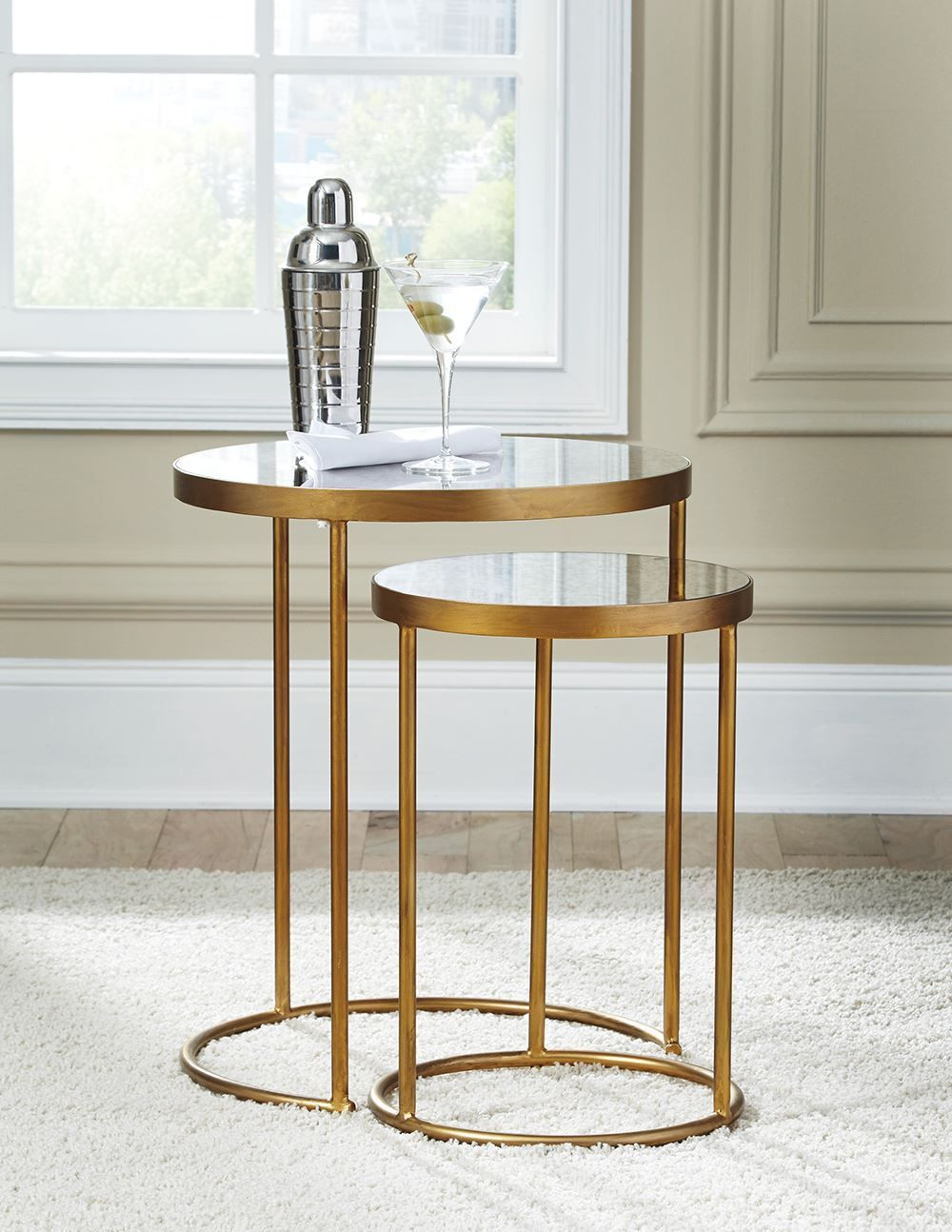 Picture of Majaci Gold Nesting Tables