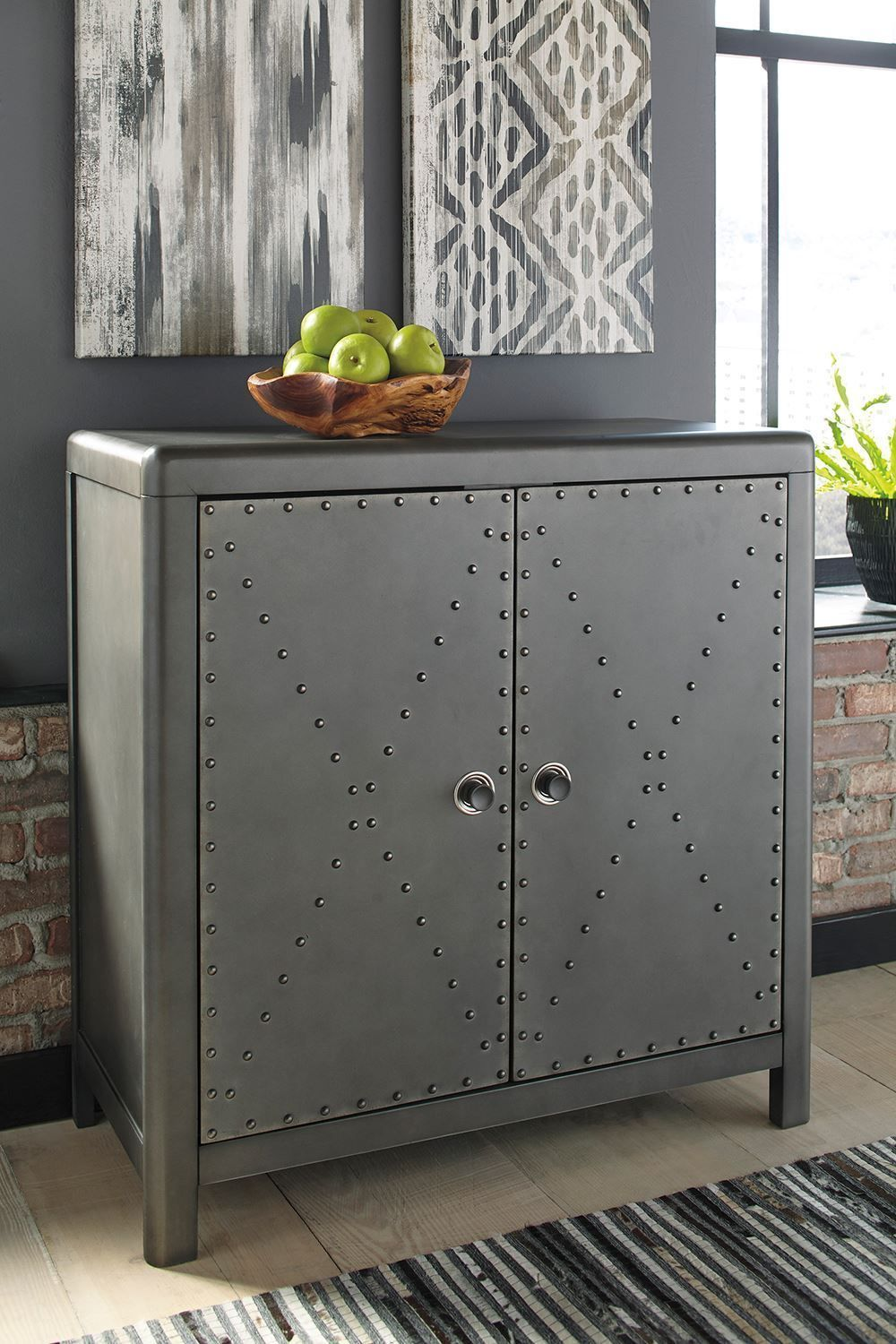 Picture of Rock Ridge Gunmetal Cabinet