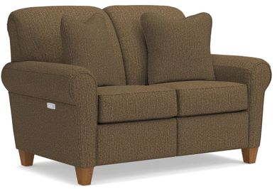 Bennett Mocha Power Reclining Loveseat