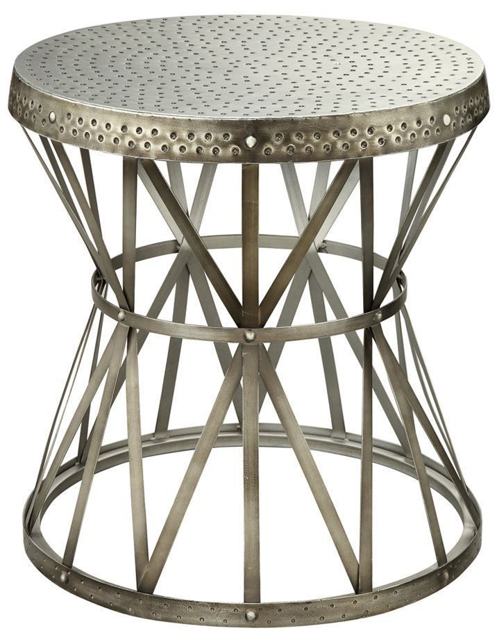 Picture of Round Steel Accent Table