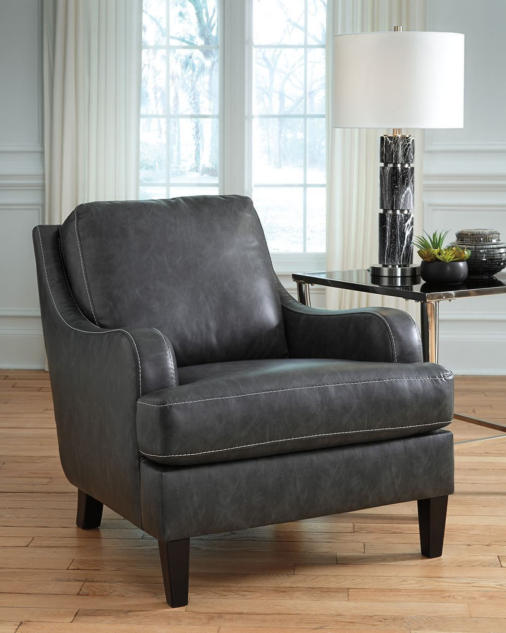 Picture of Tirolo Dark Gray Accent Chair